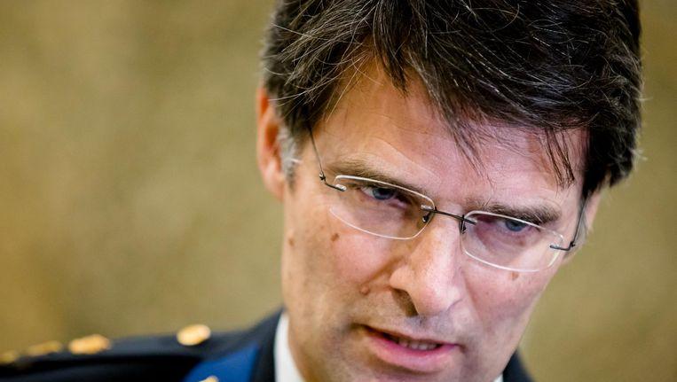 Korpschef Erik Akerboom van de Nationale Politie. Beeld anp