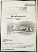 Met een rouwadvertentie is het afscheid van Tone's SummerJam ingeleid.