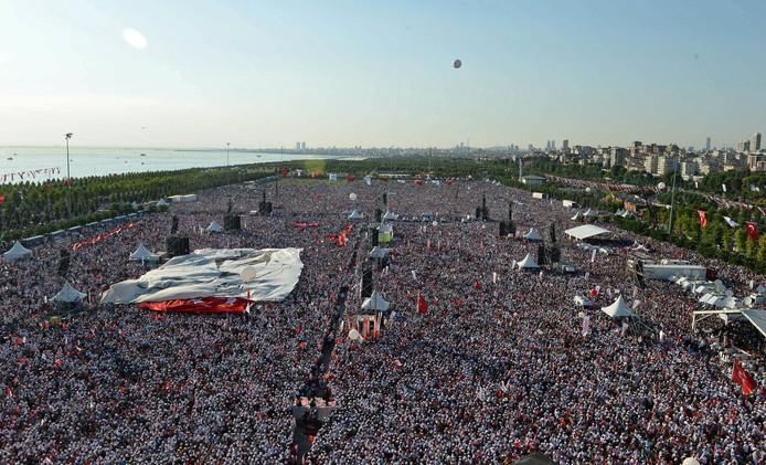 Demonstratie in Istanboel