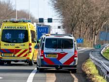 Naakte man op snelweg in Brabant, iedereen op de rem