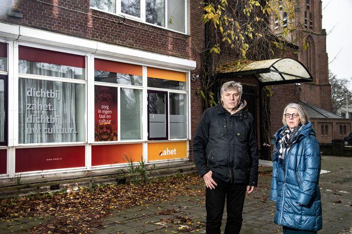 Peter Verhoef en Lies Verriet.