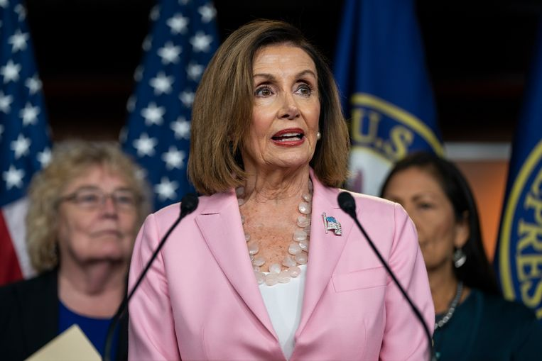 Nancy Pelosi Beeld EPA