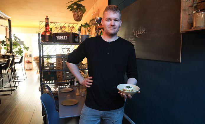 Chef-kok Alex Buiten.