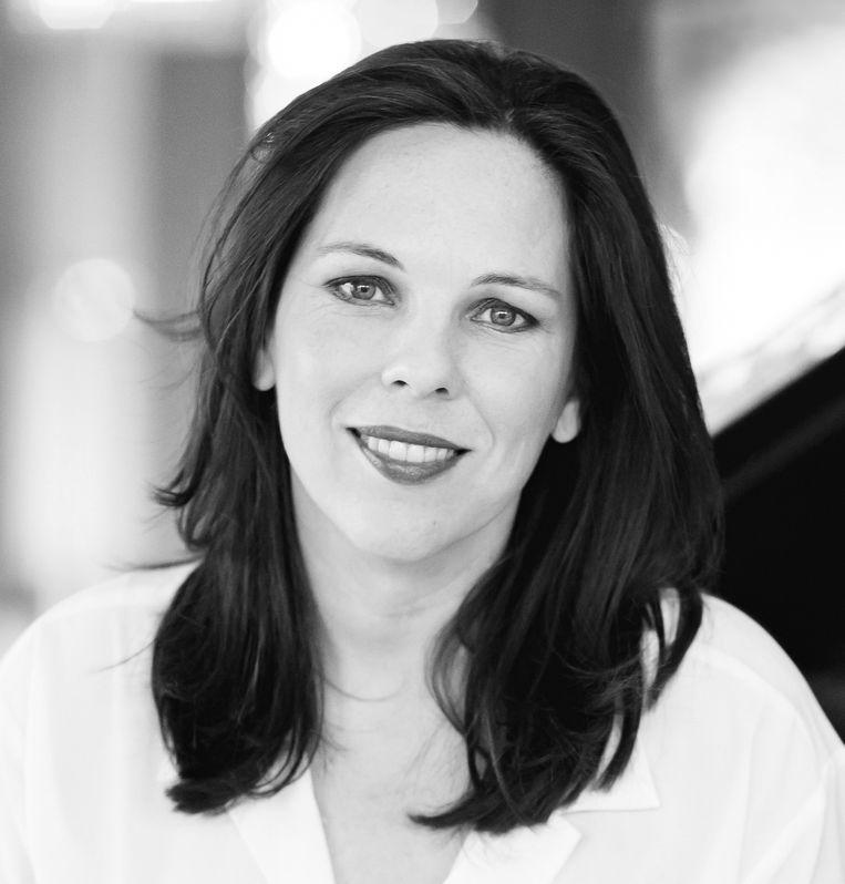 Daria van den Bercken, pianiste, oprichtster van de Keys to Music Foundation en organisator van de eerste Piano Biënnale in Nederland die in mei 2021 wordt gehouden. Beeld Sophia van den Hoek