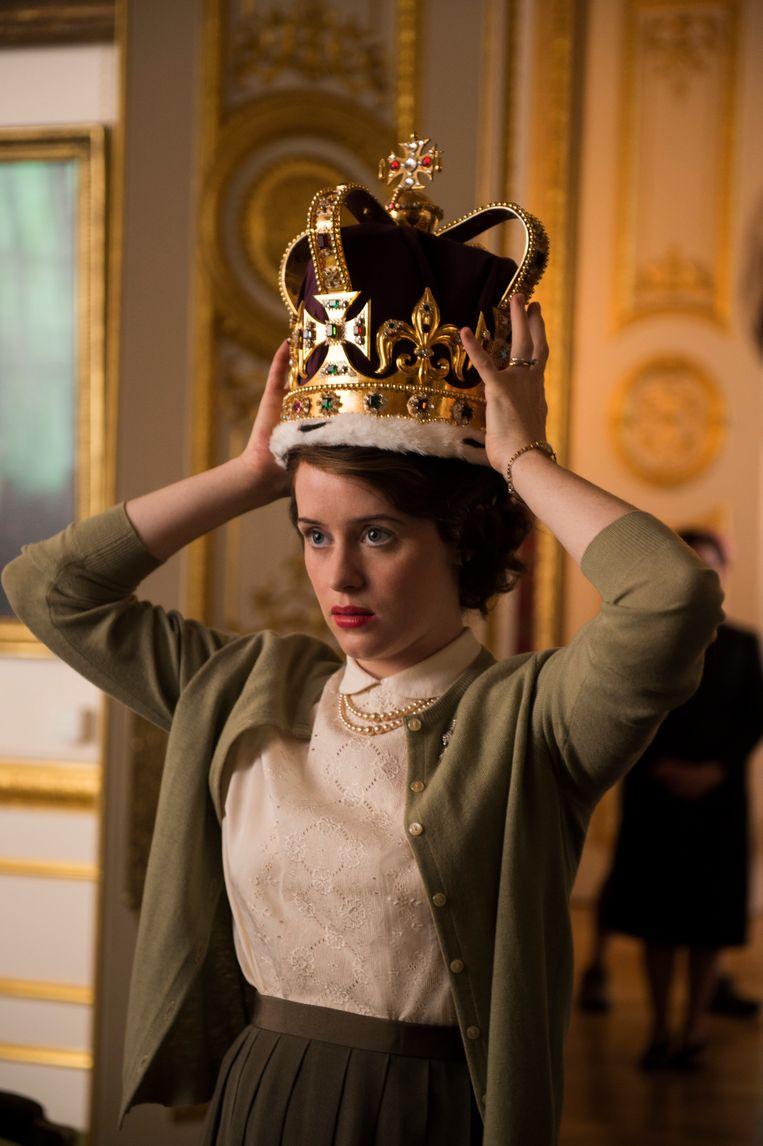 Koningshuisdrama The Crown, de duurste serie aller tijden.  Beeld AP