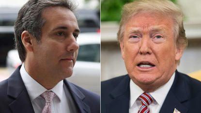 """Trump ontkent betrokkenheid na veroordeling ex-advocaat: """"Heb Michael Cohen nooit gevraagd wet te overtreden"""""""
