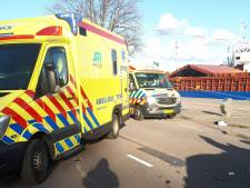 Drie gewonden bij ongeluk op de Parkkade in Rotterdam