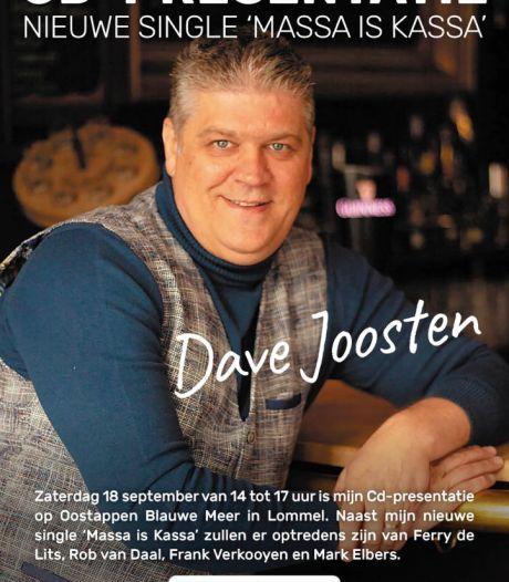 Na likeurtje, onderbroeken, shirts nu ook een liedje over multimiljonair Peter Gillis: Dave Joosten zingt 'Massa is kassa'