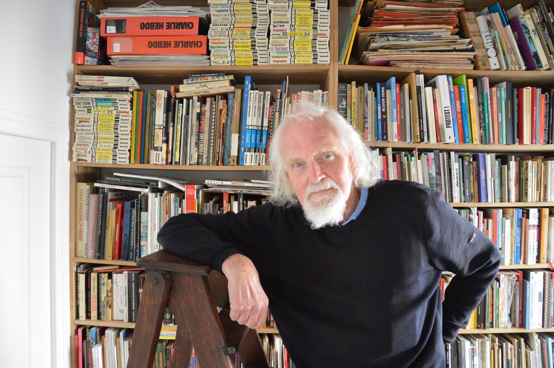 Bernhard Willem Holtrop stopt na veertig jaar met zijn dagelijkse tekeningen voor Libération. Het is hem in al die jaren nog nooit gebeurd dat ze zeiden: 'Willem, deze kan echt niet'.