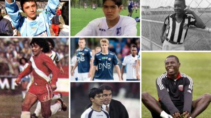Van werkloos tot wereldster: hoe verging het deze voetballers, die voor hun zestiende al debuteerden op het hoogste niveau?