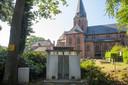 De route begint bij galerie Urinoir bezet, de plek waar dorpsbewoners vroeger gebruik van maakten na een bezoek aan de kerk of het café.