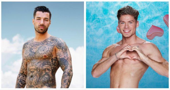 Sander uit 'Ex on the beach: double Dutch' wil vechten tegen Stenn uit 'Love Island'.