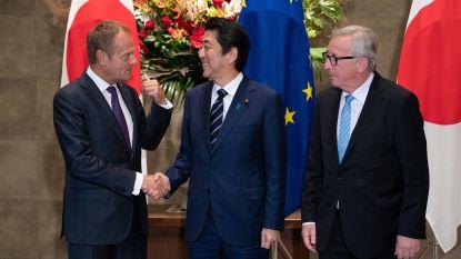 Grootste vrijhandelszone ter wereld gaat van start: EU en Japan vormen markt van meer dan 600 miljoen mensen