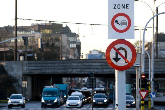 Sinds 2017 is in Antwerpen de lage-emissiezone van kracht.