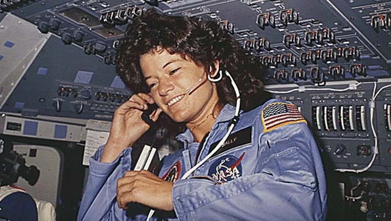 Sally Ride in 1983. Beeld afp