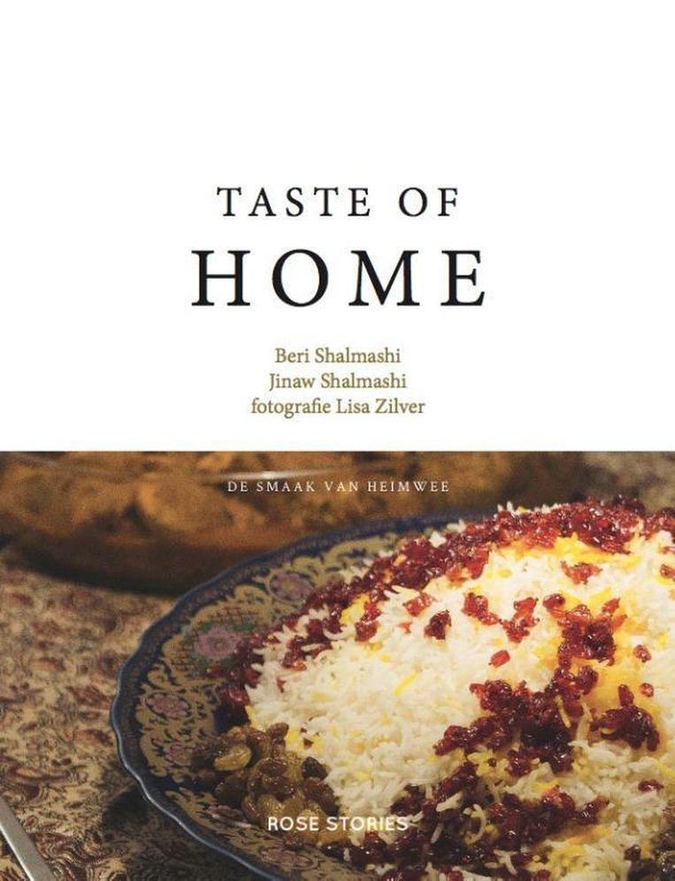 Taste of Home. De smaak van heimwee. Beri & Jinaw Shalmashi, Rose Stories €24,95 Beeld RV