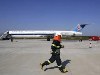 Brand en rook in twee vliegtuigen China Southern