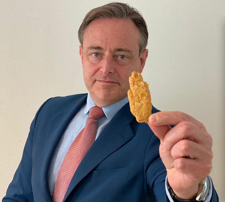 Bart De Wever (N-VA) en unie voor brood en banket in de bres voor Antwerpse Handjes na online heisa. Beeld Facebook