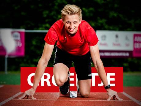 Twan (17) is fanatiek met atletiek: 'Maar ik loop niet met een boekje ernaast calorieën te tellen hoor'