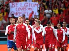 Bezoek Eriksen geeft Deense ploeg een boost: 'Het was geweldig om met hem te praten en hem te omarmen'