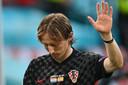 Luka Modric speelde mogelijk zijn laatste wedstrijd op een eindtoernooi.