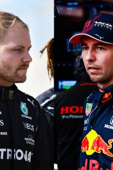 Verstappen baalt, Hamilton dolbij: 'wing men' Pérez en Bottas langs de meetlat