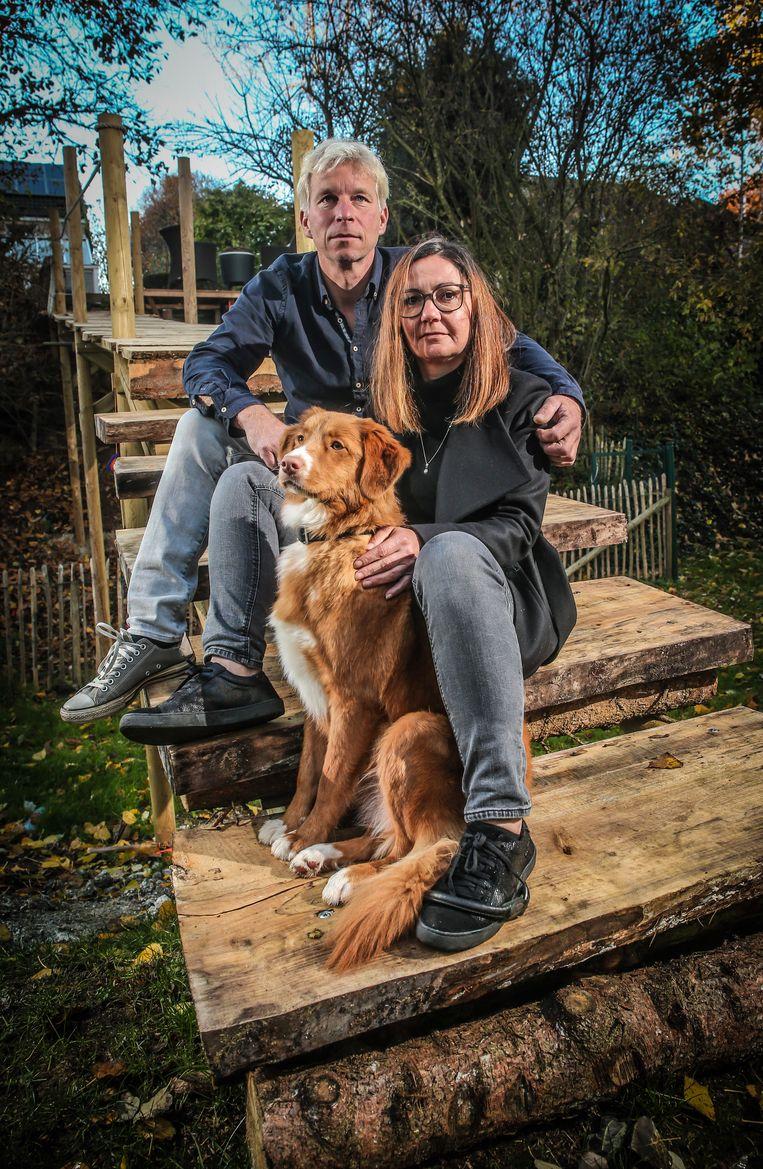 Gerrit en Wendy De Cort verloren hun zoon Bram door zelfmoord. Beeld