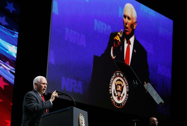 Vicepresident van de Verenigde Staten Mike Pence. Beeld REUTERS