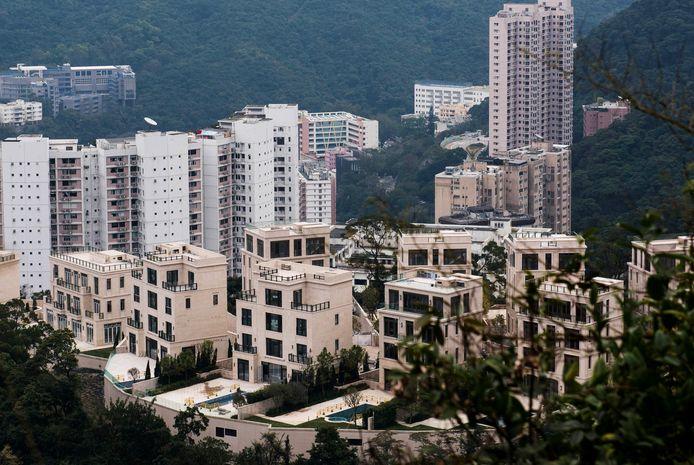 Woningen in het Peak District in Hongkong.