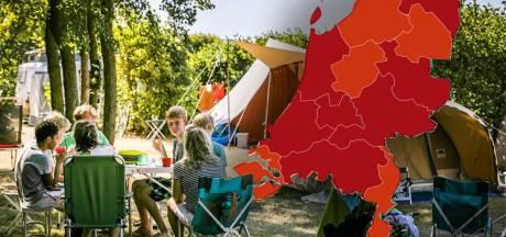 Overijssel en Gelderland kleuren donkerrood op Europese coronakaart: welke gevolgen heeft dit?