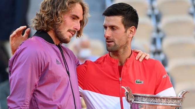 """Tsitsipas' oma overleed vijf minuten voor start van Roland Garros-finale: """"Trofeeën winnen is iets, maar niet alles"""""""