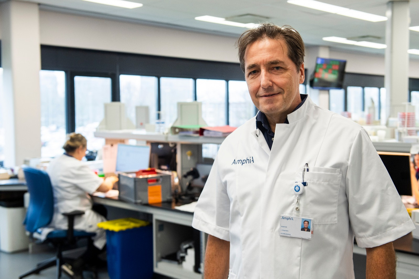 Jan Kluytmans, arts-microbioloog in het Amphia-ziekenhuis in Breda.