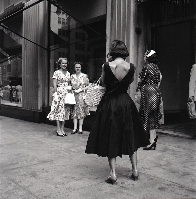 Vivian Maier, 'Untitled, 1954'. Beeld Estate of Vivian Maier, Courtesy Maloof Collection and Howard Greenberg Gallery, New York