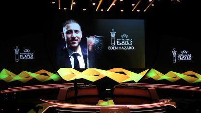 Eden Hazard verkozen tot Speler van het Seizoen in Europa League