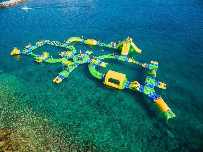 Zo komt het nieuwe aquapark van Port Zélande eruit te zien.