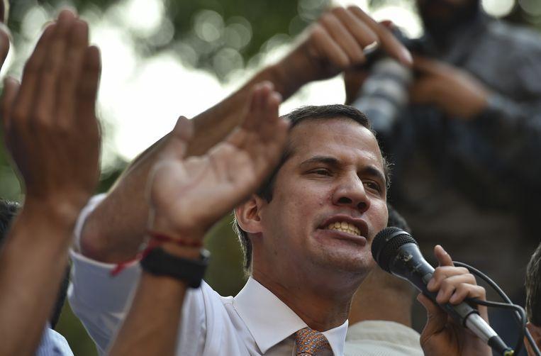 Juan Guaidó. Beeld AFP