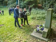 Herdenking bij oorlogsmonument Engelse Werk in Zwolle