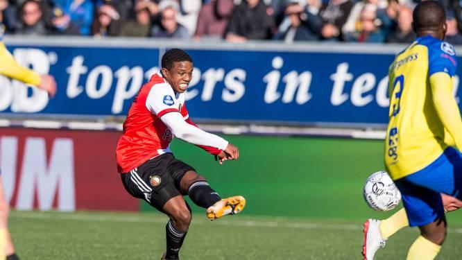 Feyenoord boekt zwaarbevochten zege na enerverend duel bij Cambuur