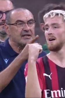 """Sarri s'emporte contre Saelemaekers: """"Tu dois montrer du respect!"""""""