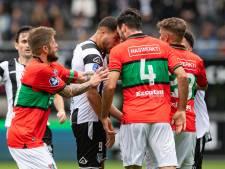 NEC-verdediger Márquez over rode kaart voor Bakis: 'Hij kwam als een gek op me af'
