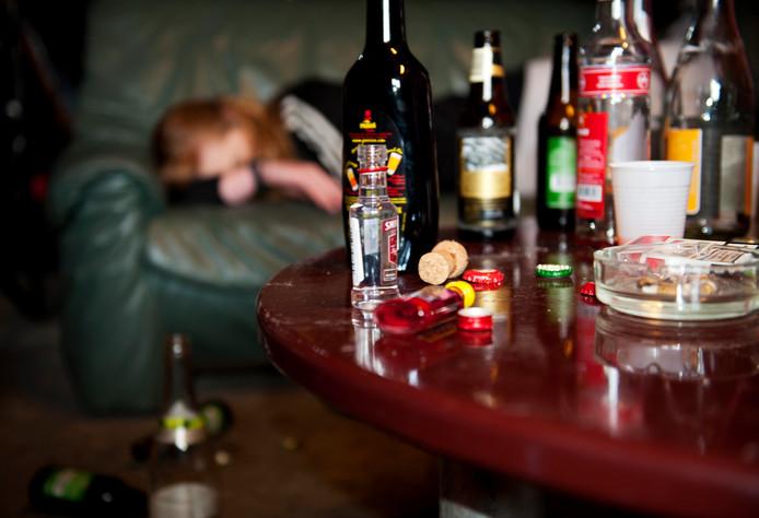 Staphorst wil alcohol- en drugsgebruik onder haar jongeren terugdringen. ANP XTRA ROOS KOOLE