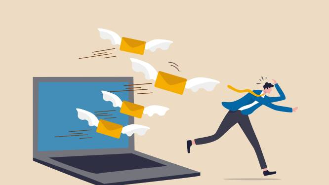 Meer met je mail bezig dan met je werk? Zo krijg je een uitpuilende inbox op orde