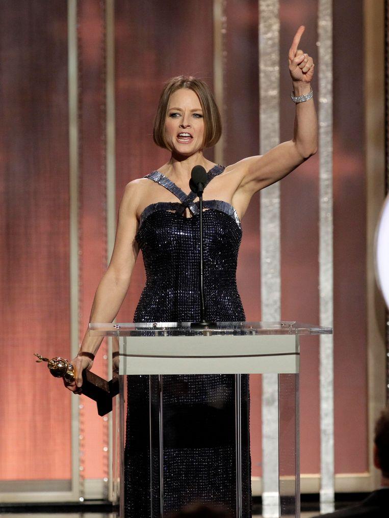 Jodie Foster, Cecil B. De Mille Award Beeld AP