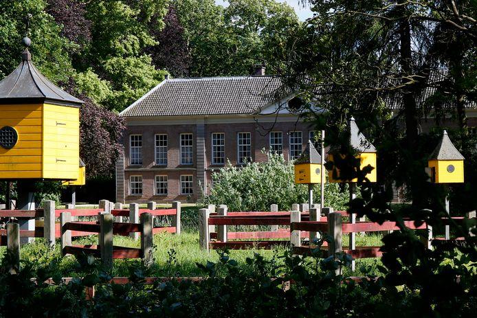 Klooster Mariënwaardt, thans de woning van baron Frans van Verschuer en diens familie.