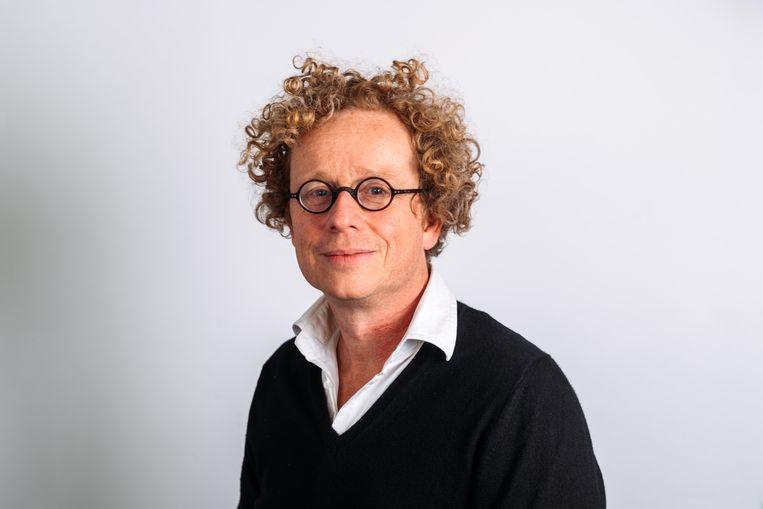 Journalist Koen Vidal. Beeld Eva Beeusaert