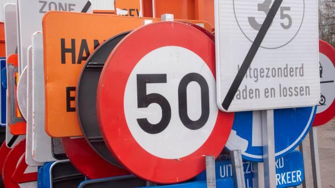 Verkeersborden gestolen op Tragelweg