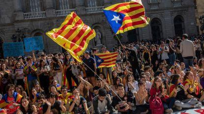 'Vredesmars' en politieversterking onderweg naar Barcelona voor massaprotest