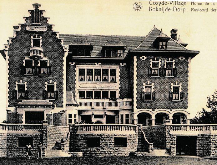 'Home de la Mine' of 'de Miene' zoals ze het moederhuis van 'Hotelschool Ter Duinen' in Koksijde noemen. Hier begon het in 1946 allemaal.