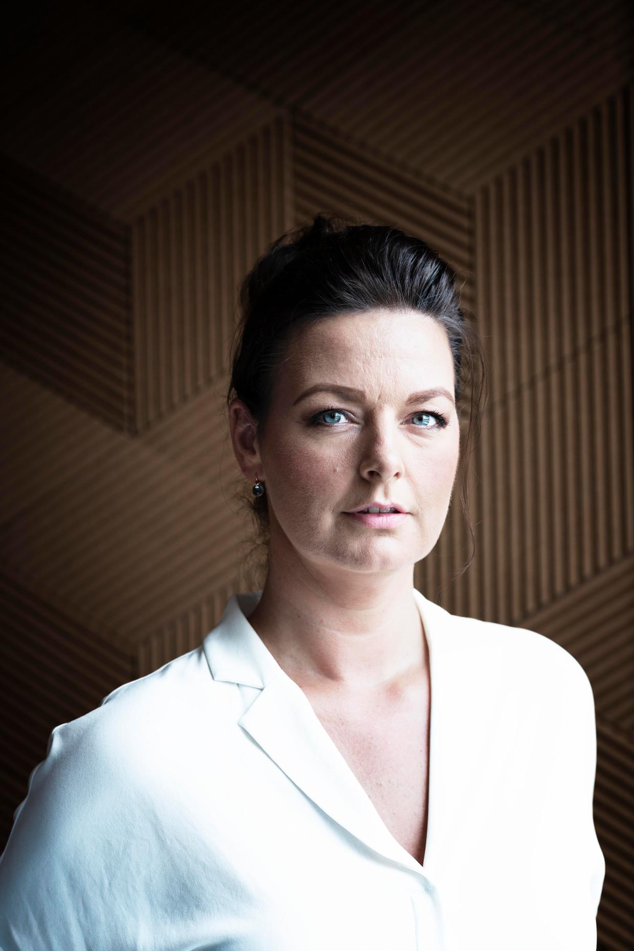 Rianne de Vries, wetenschappelijk directeur Breathomix. Beeld Kiki Groot