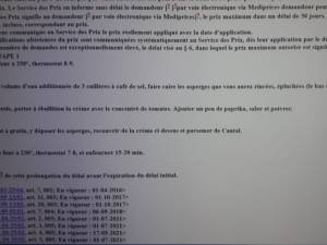"""La recette """"des asperges au Cantal"""" au beau milieu d'un texte de loi: """"Une vraie histoire belge"""""""